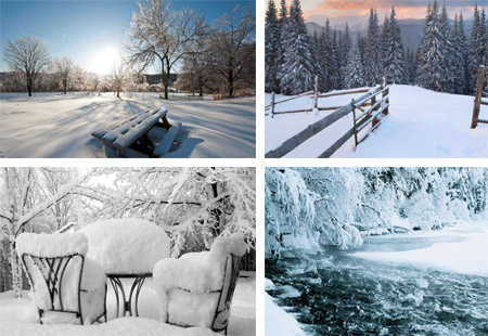 والپر های جدید و زیبا با موضوع برف
