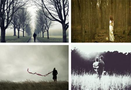 عکس های تنهایی و بی کسی